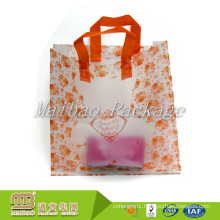 Wholesale Heavy Duty Custom Printed Heat Sealable Shopping Large Clear Plastic Tote Bag With Handles For Sale